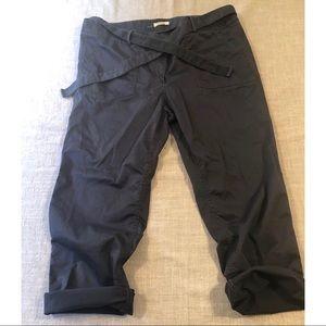 EUC. Loft Gray Tie Pants